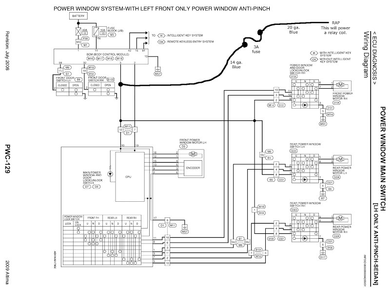 2000 nissan altima radio wiring diagram need help finding an ignition (+) wire please.. - nissan ... #8